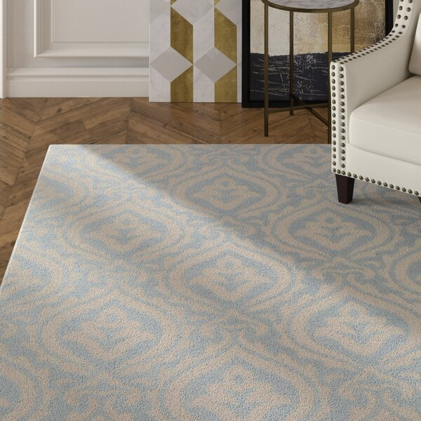 Lachapelle Mint/Beige Area Rug by House of Hampton