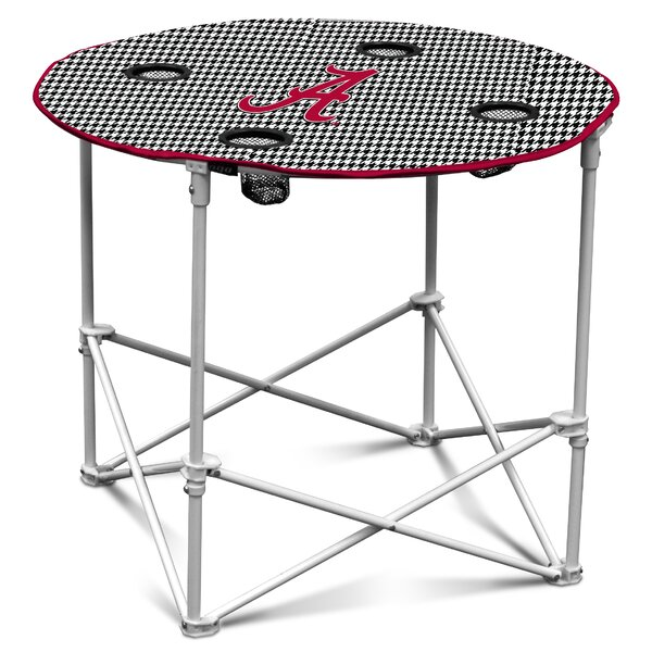 Alabama Houndstooth Round Table by Logo Brands