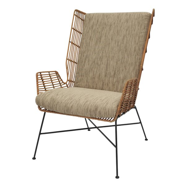 Krumm Wingback Chair by Bungalow Rose