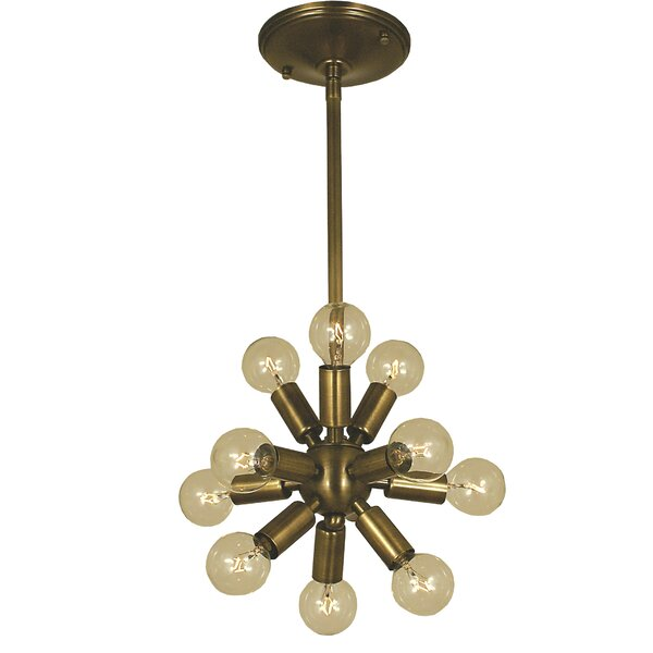 Frizzell 11 - Light Sputnik Sphere Chandelier by George Oliver George Oliver