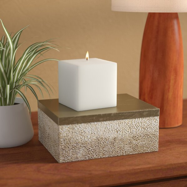 Square Pillar Candle by Wrought Studio