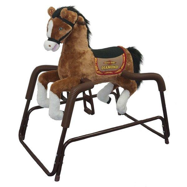 Rockinu0027 Rider Diamond Spring Rocking Horse U0026 Reviews | Wayfair