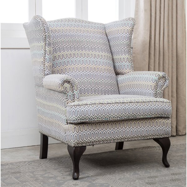 Medau Wingback Chair by Darby Home Co Darby Home Co