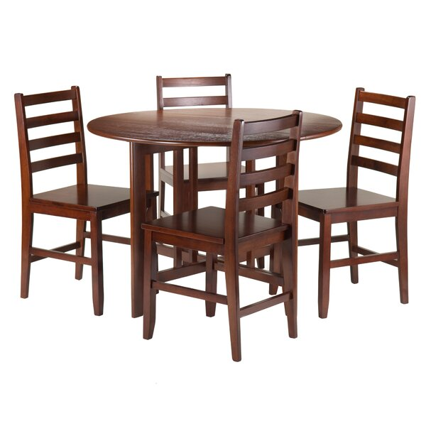 Columbia 5 Piece Dining Set By Red Barrel Studio #1