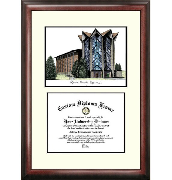 NCAA Valparaiso University Scholar Diploma Picture Frame by Campus Images