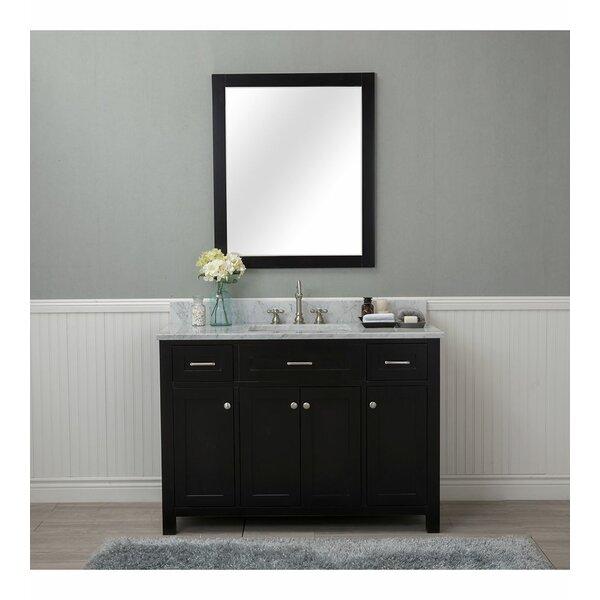 Daughtery 48 Single Bathroom Vanity Set with Mirror