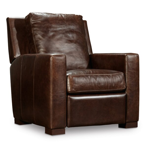 Daksh Leather Manual Recliner by Foundry Select Foundry Select