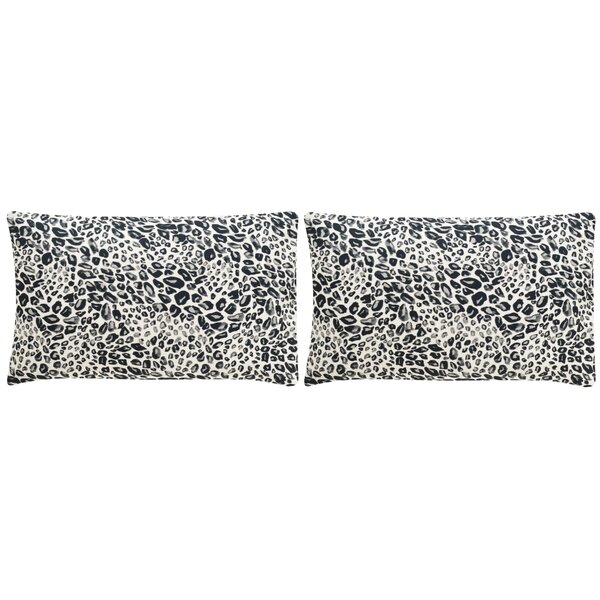 Maimouna Leopard Throw Pillow (Set of 2) by World Menagerie