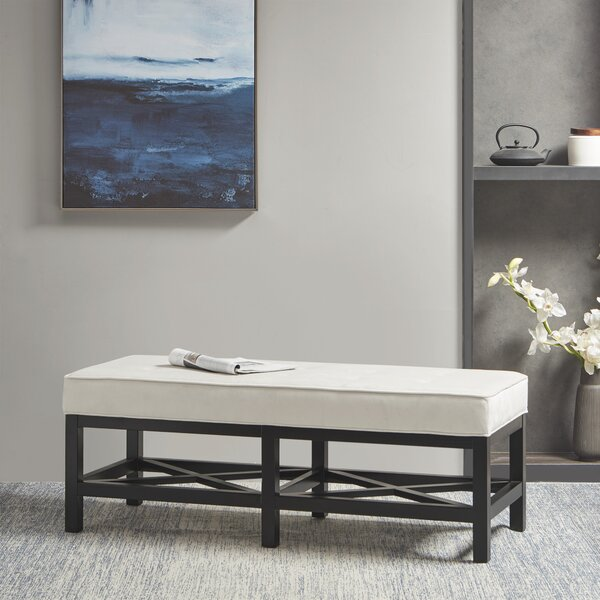 Braeside Upholstered Bench by Martha Stewart
