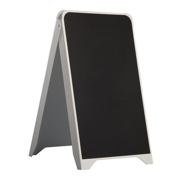 A-Frame Free Standing Chalkboard by MT Displays