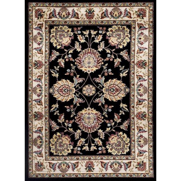 Toscana Black Area Rug by World Rug Gallery