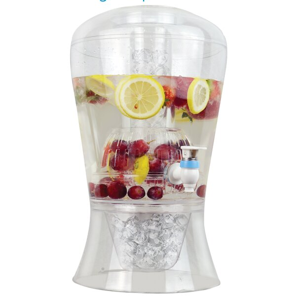 Unbreakable Chill and Infuse Beverage Dispenser - 2 Gallon by Frigidaire