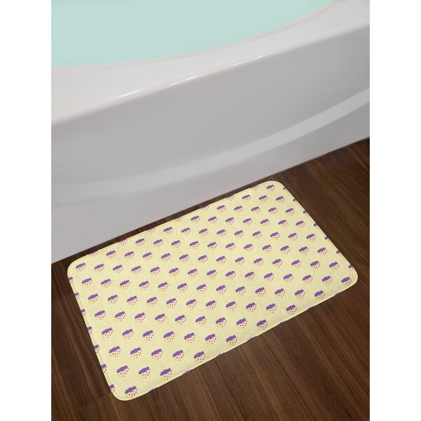 Colorful Doodle Bath Rug by East Urban Home