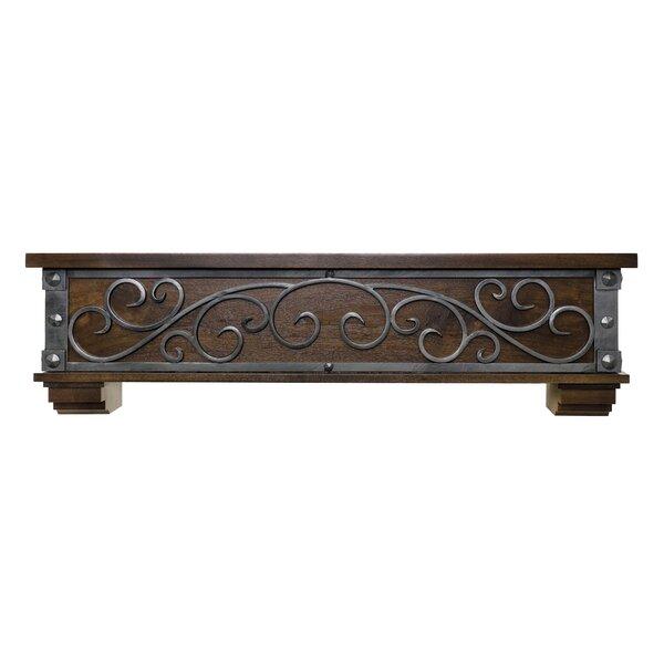 Symphony Fireplace Shelf Mantel by Ornamental Designs