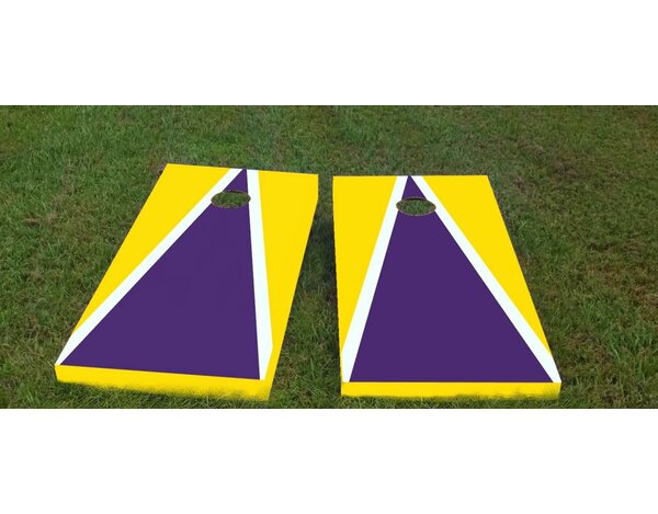 Louisiana State University Cornhole Game (Set of 2) by Custom Cornhole Boards