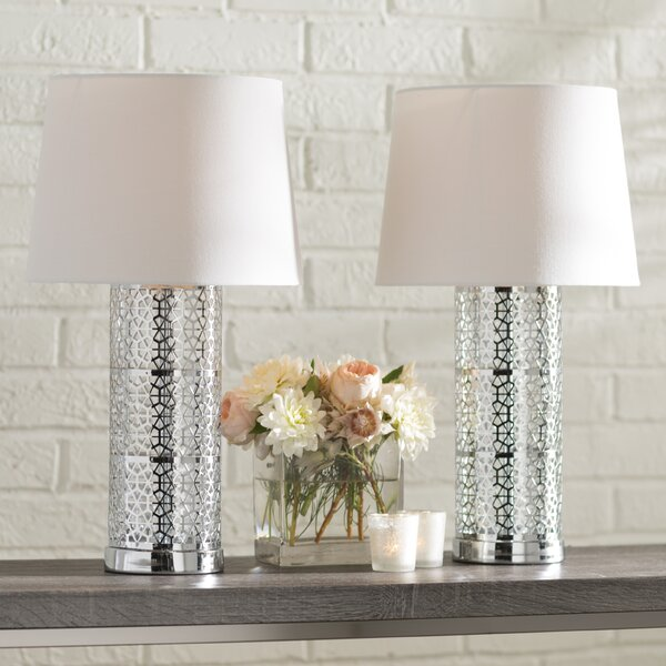 Defranco 22 Table Lamp (Set of 2) by Ivy Bronx