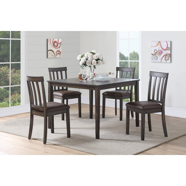 Mattapoisett 5 Piece Dining Set by Winston Porter