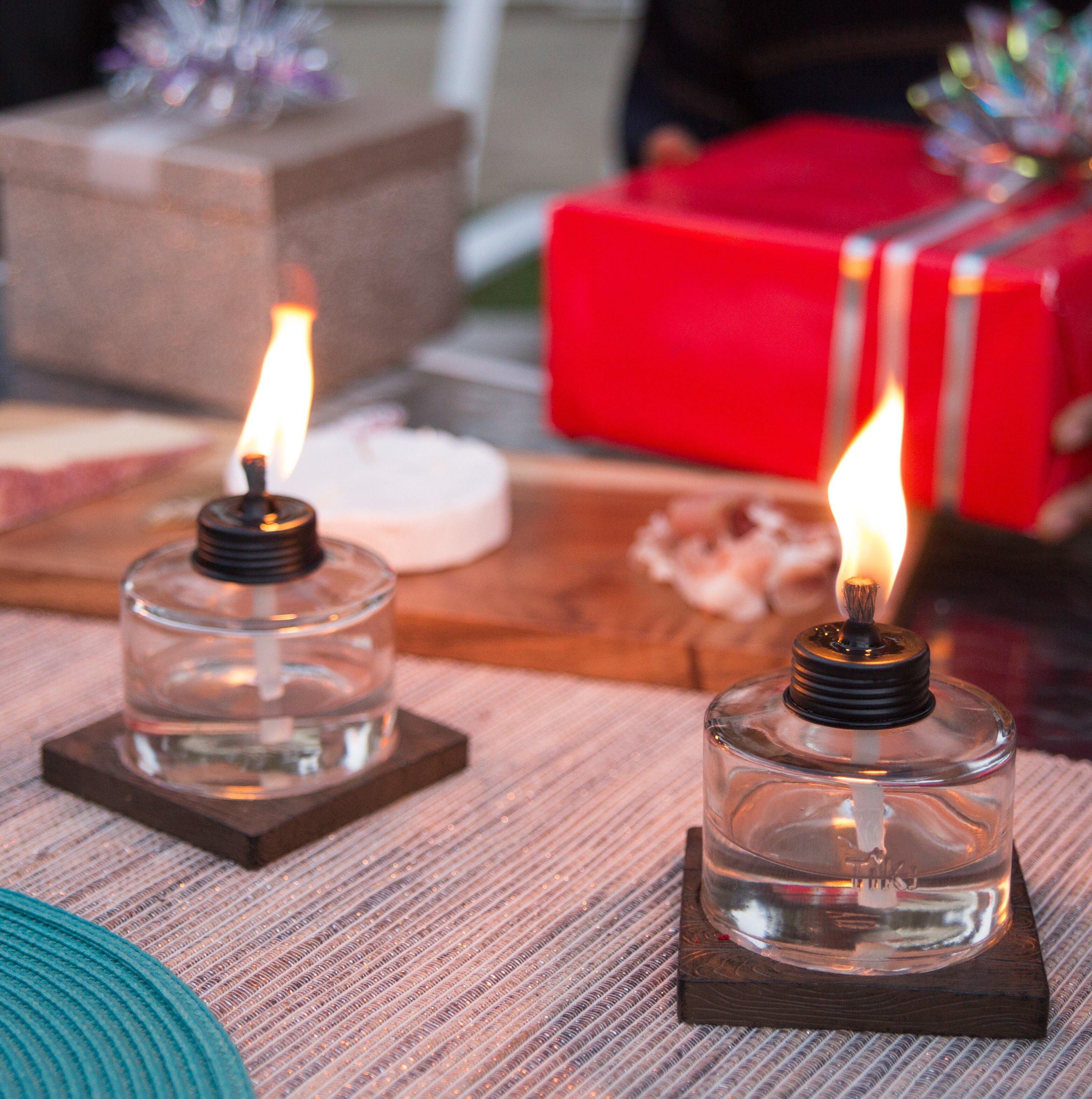 Table Torch Votive Tiki