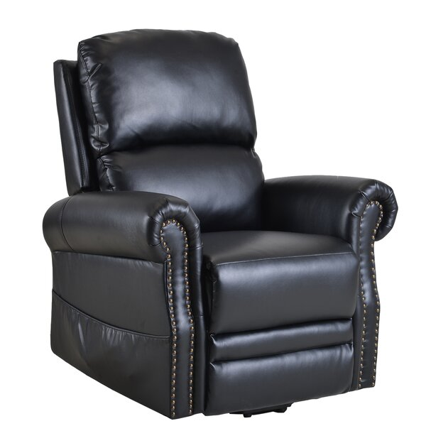 Conradina Faux Leather Power Lift Assist Recliner W003325815