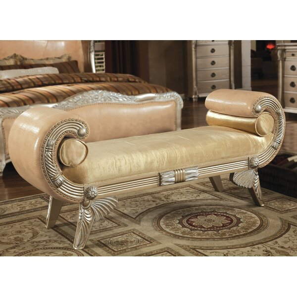 Mabel Upholstered Bench by Astoria Grand