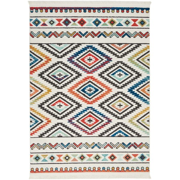 Carice Red Area Rug by Bungalow Rose