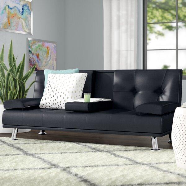 Guiterrez Center Console Sleeper Sofa by Wrought Studio Wrought Studio