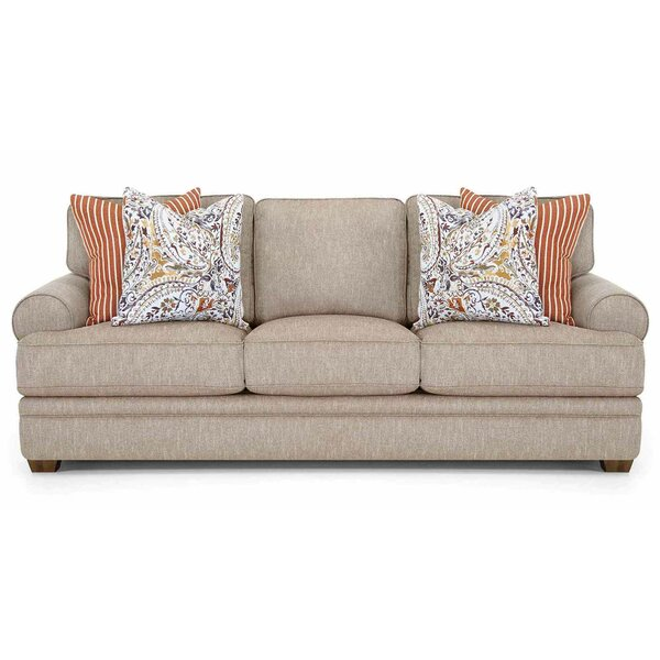 Fidel 93.5-inch Recessed Arms Sofa by Canora Grey Canora Grey