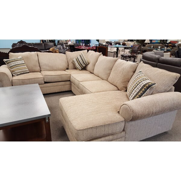 Borchert Left Hand Facing Sectional By Canora Grey