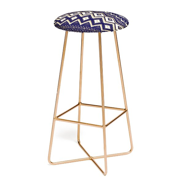 Marta Barragan Camarasa Mystic Tribal 30 Bar Stool by East Urban Home