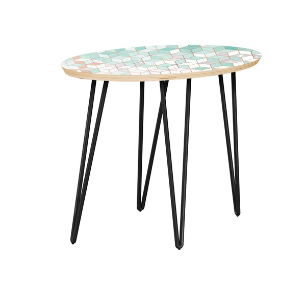 Chiyoda End Table by Bungalow Rose