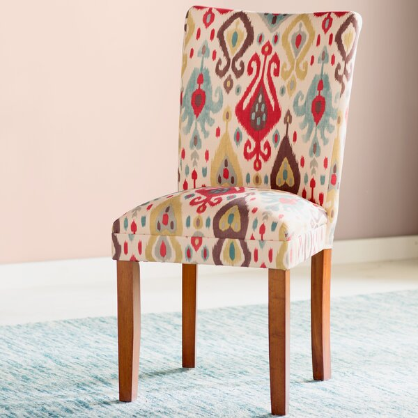 Edwidge Parsons Chair (Set of 2) by Bungalow Rose