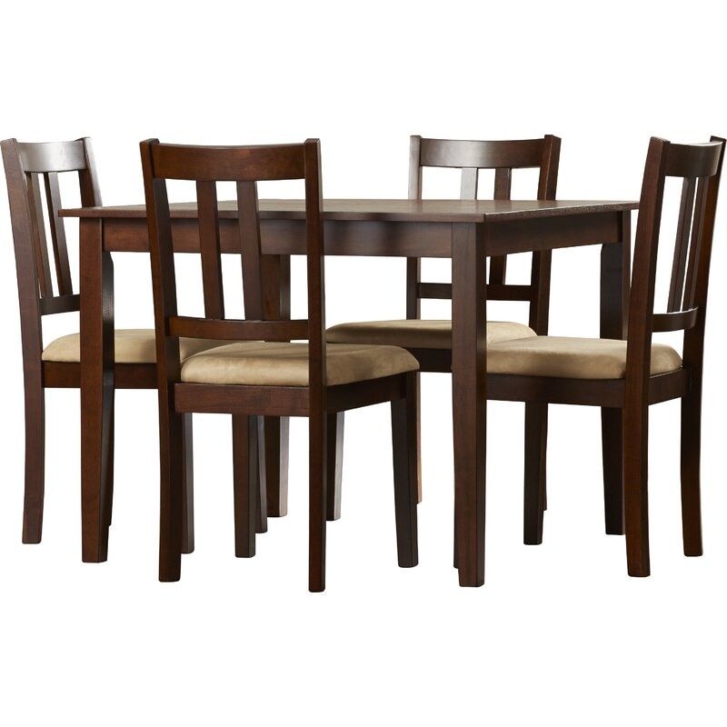 Owings 5 Piece Dining Set