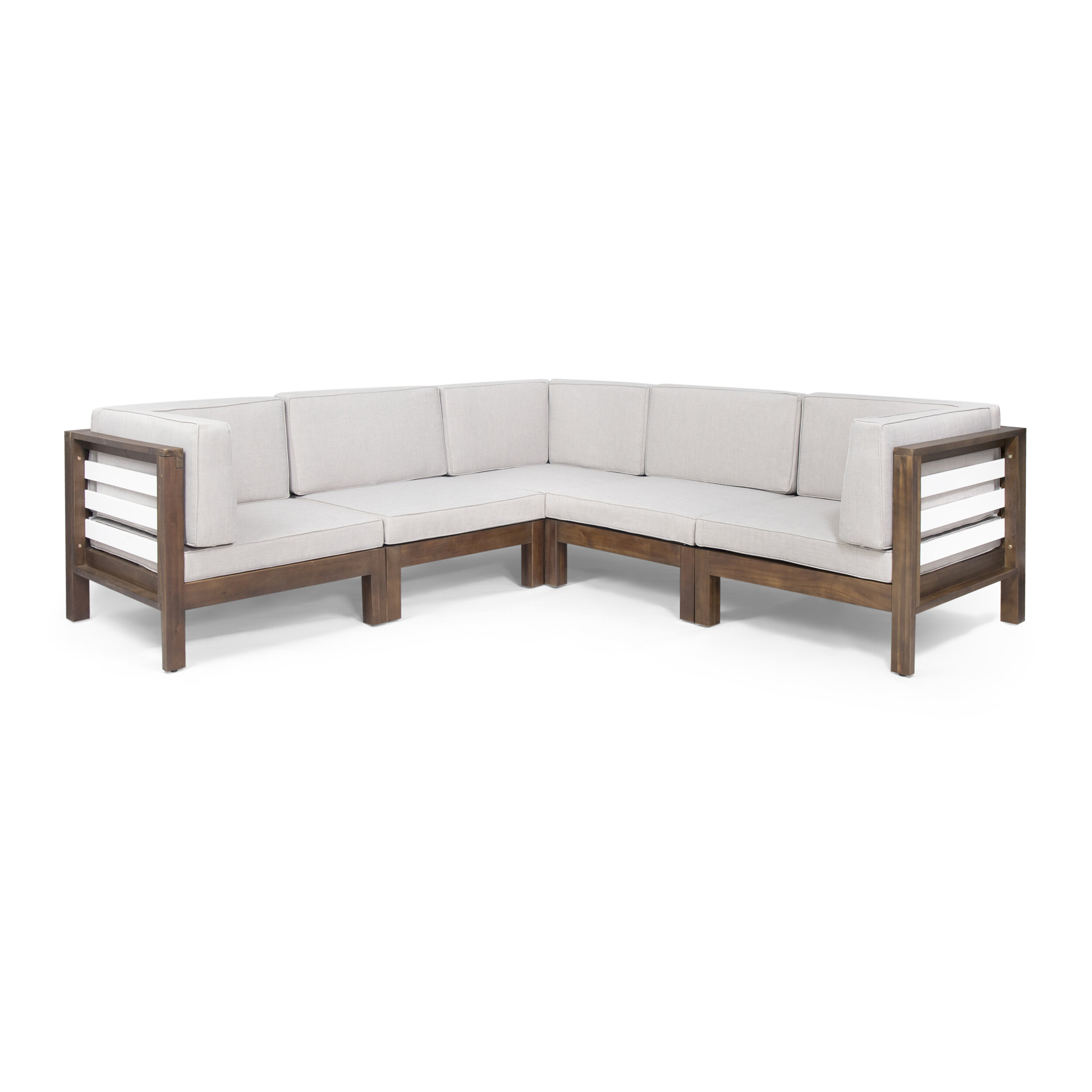 Soler Outdoor V Shaped Patio Sectional