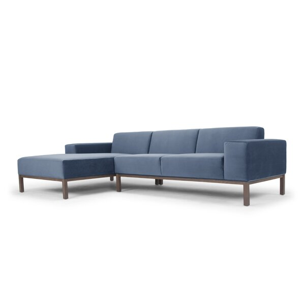 Cassius Sectional with Ottoman by Modern Rustic Interiors