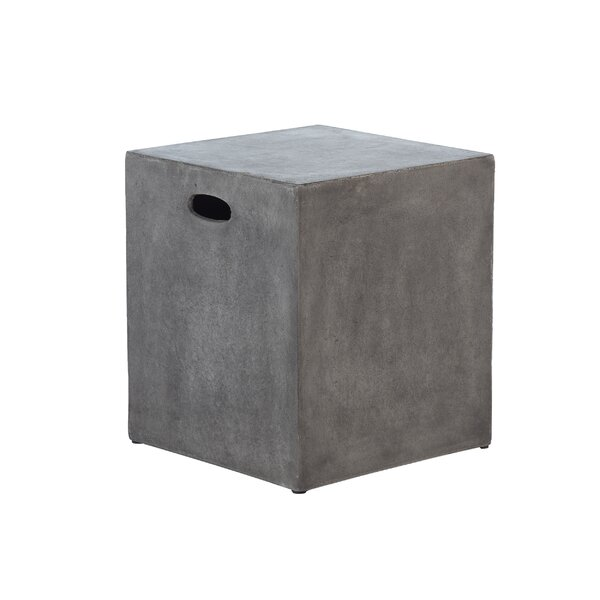 Colegrove Modular Cube Accent Stool with Handle by Foundry Select