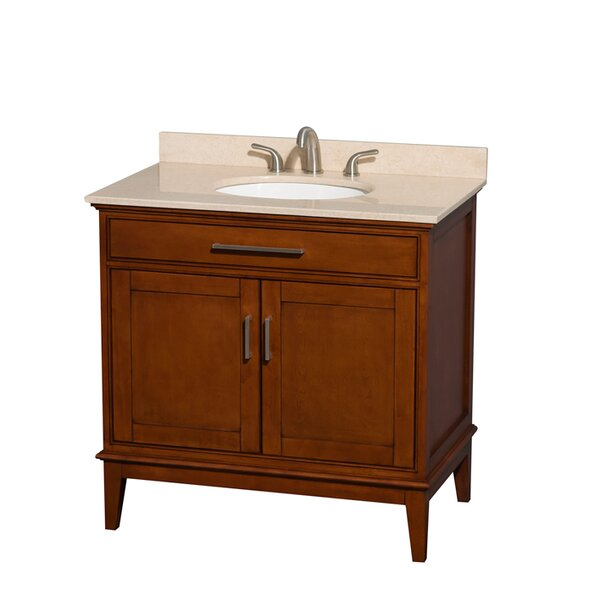 Hatton 36 Single Bathroom Vanity Set by Wyndham CollectionHatton 36 Single Bathroom Vanity Set by Wyndham Collection