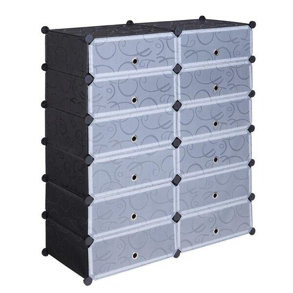 DIY Storage Organizer 36 Pair Shoe Storage Cabinet