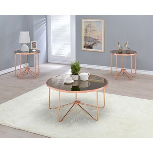 Bock 2 Piece Coffee Table Set by Wrought Studio