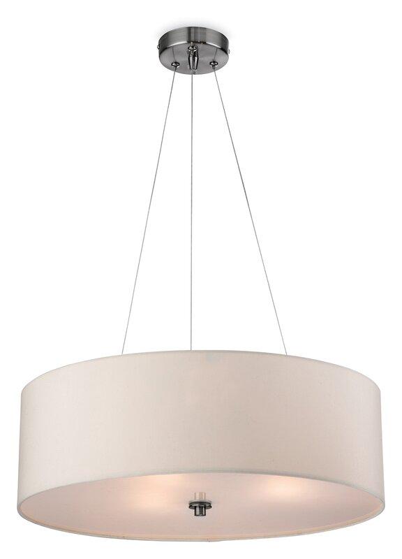 Andover mills coello 3 light drum pendant reviews wayfair coello 3 light drum pendant aloadofball Choice Image