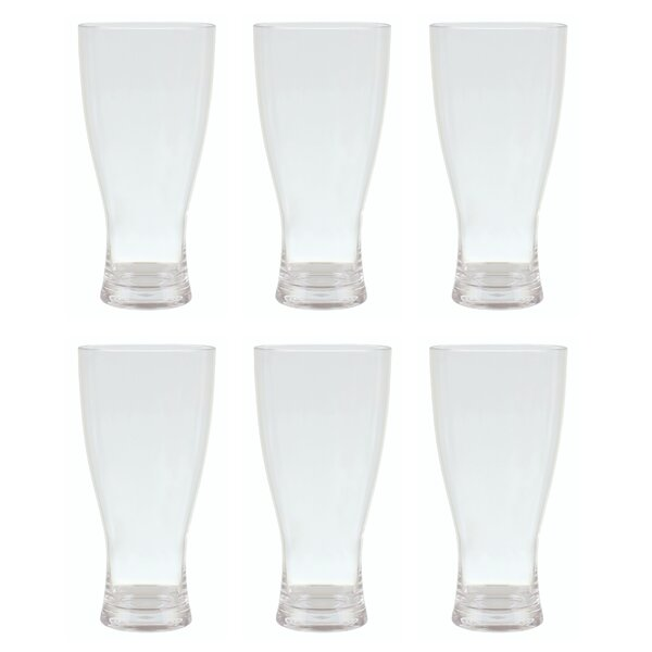 Labrenz 19 oz. Acrylic Every Day Glass (Set of 6) by Red Barrel Studio
