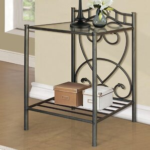 Metal Nightstand by Andover Mills