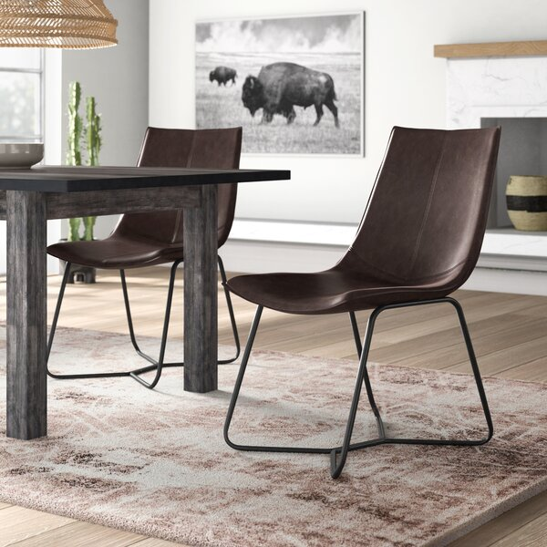Winschoten Upholstered Dining Chair (Set Of 2) By Mistana Mistana