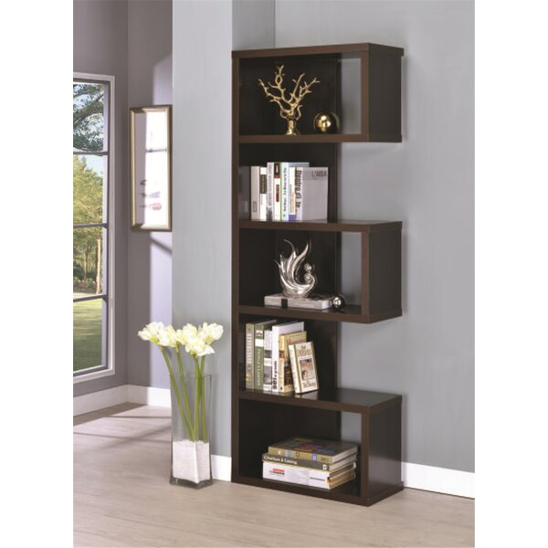 Schrock Geometric Bookcase By Brayden Studio