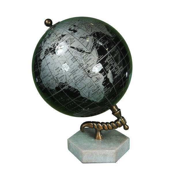 Enamel Globe by Charlton Home