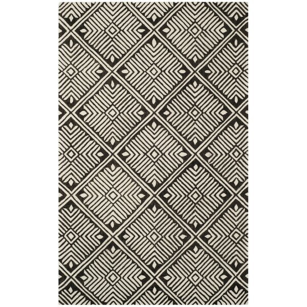 Sloan Hand-Tufted Wool Ivory Area Rug by Union Rustic