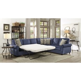 Ezekiel Sleeper Sectional by Charlton Home