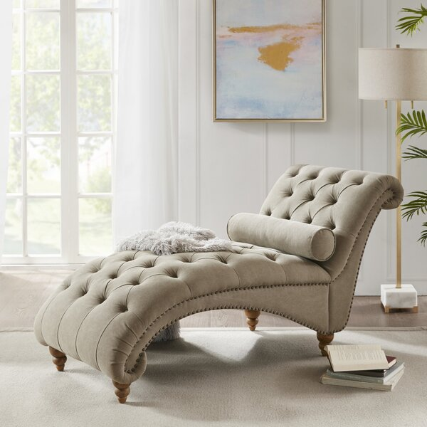Scandia Chaise Lounge By Canora Grey