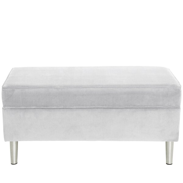 Como Upholstered Storage Bench by Mercer41