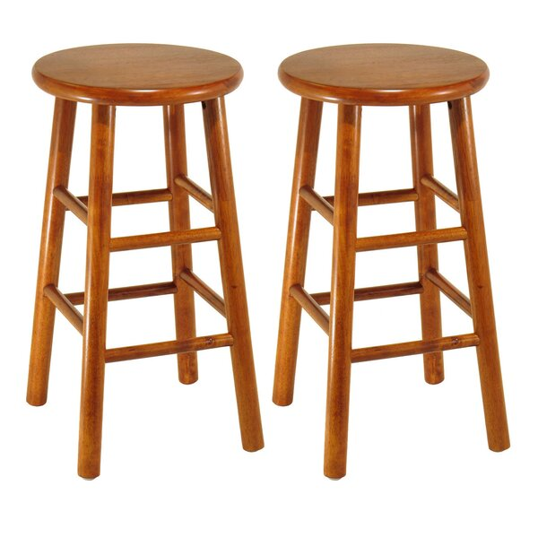Aberdeen 24 Bar Stool (Set of 2) by Loon Peak