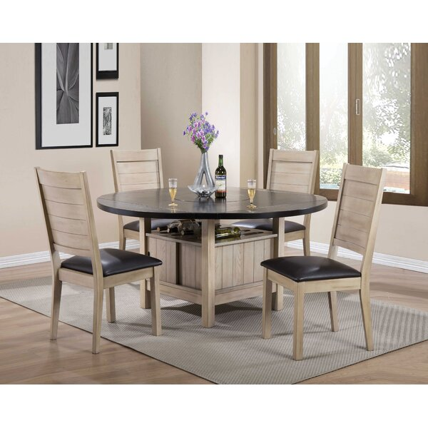 Spicer 5 Piece Extendable Dining Set by Loon Peak